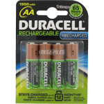 PILE RECHARGEABLE NiMH AA 1950mAh DURACELL