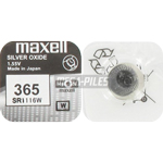 PILE SR1116W OXYDE ARGENT 365 1.55V 29mAh x1 MAXELL