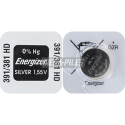 PILE SR1120SW-SR1120W 381-391 OXYDE ARGENT SR55 1.55V 47mAh