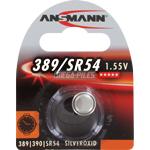 PILE SR1130W-SR1130SW 389-390 OXYDE ARGENT SR54 1.55V 73mAh x1