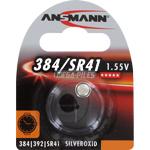 PILE SR41SW-SR41W OXYDE ARGENT 384-392 1.55V 34mAh x1