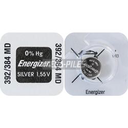 PILE SR41SW-SR41W OXYDE ARGENT 384-392 1.55V 44mAh