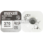 PILE SR920W OXYDE ARGENT 370 1.55V 39mAh x1 MAXELL