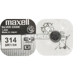 PILE SR716W 314 OXYDE ARGENT 1.55V 20mAh x1 MAXELL