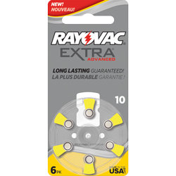PILES 10 AUDITIVES EXTRA 1.4V 105mAh RAYOVAC