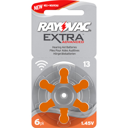 PILES 13 AUDITIVES EXTRA 1.4V 310mAh RAYOVAC