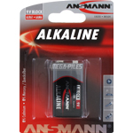 PILES 6LR61 ALCALINES 9V 500mAh x1
