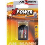 PILES 6LR61 X-POWER ALCALINES 9V 550mAh x1