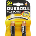 PILES AA LR6 ALCALINES PLUS POWER 1.5v x2 DURACELL