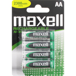 PILES AA RECHARGEABLES LR6 NiMH 1.2V 2300mAh x4