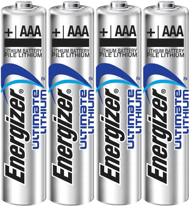 PILES AAA L92 LITHIUM ULTIMATE 1.50V x4
