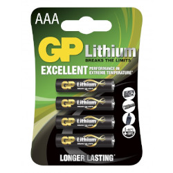 Piles AAA Lithium 1.50V BL4