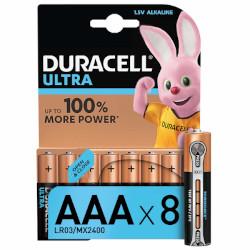 Piles alcalines Ultra LR3 AAA MX2400 BL8