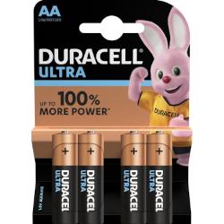Piles alcalines Ultra LR6 AA MX1500 BL4