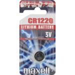 PILE CR1220 LITHIUM 3V 36mAh BLISTER x1