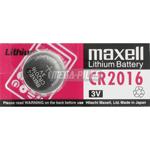 PILE CR2016 3V LITHIUM 90mAh x1