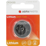 PILE CR2430 LITHIUM PHOTO 3V 270mAh x1 AGFA