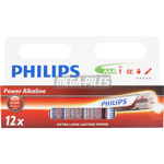 PILES LR03 ALCALINES AAA 1.50V x12 PHILIPS