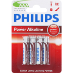 PILES LR03 POWER ALCALINES AAA 1.50V x4 PHILIPS