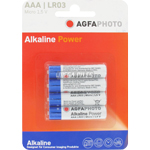 PILES LR03 ALCALINES AAA MICRO 1.50V x4