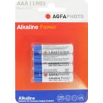 PILES LR03 ALCALINES AAA MICRO 1150mAh 1.50V x4