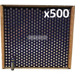 PILES LR03 ALCALINES INDUSTRIAL AAA 1250mAh 1.50V x500