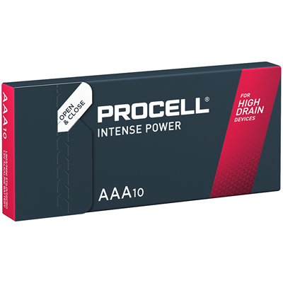 Piles LR03 PX2400 alcalines AAA Procell Intense 1.50V