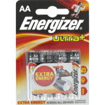 PILES LR06 ALCALINES AA 1.50V ULTRA+ x4 ENERGIZER