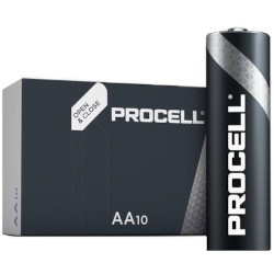 PILES LR06 ALCALINES AA INDUSTRIAL 1.50V x10 DURACELL INDUSTRIAL PROCELL