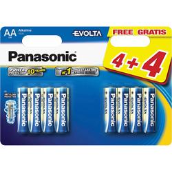 PILES LR06 EVOLTA ALCALINES AA 1.50V x8