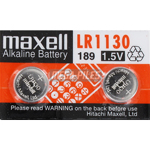 PILES LR1130 ALCALINES LR54 1.5V x2
