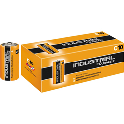 PILES LR14 C ALCALINES x10 DURACELL INDUSTRIAL PROCELL