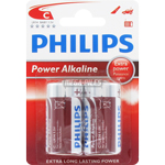PILES LR14 C ALCALINES POWER x2 PHILIPS