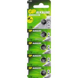 PILES LR44 ALCALINES A76C 1.5V 110mAh x5