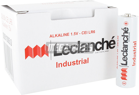 PILES LR6 INDUSTRIAL ALCALINES AA 1.5V x20