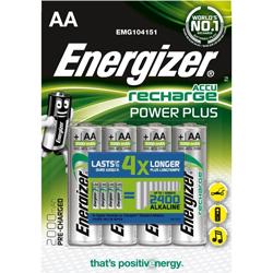 Piles rechargeables Power Plus NiMH AA HR6 1.2V 2000mAh BL4
