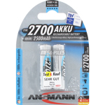 PILES RECHARGEABLES NiMH AA HR6 1.2V 2500mAh x2