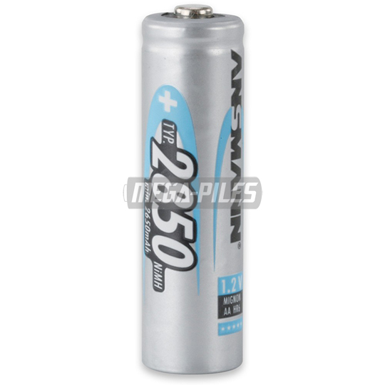 PILES RECHARGEABLES NiMH AA HR6 1.2V 2850mAh x1