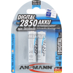 PILES RECHARGEABLES NiMH AA HR6 DIGITAL 1.2V 2850mAh x2