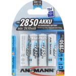 PILES RECHARGEABLES NiMH AA HR6 1.2V 2650mAh x4
