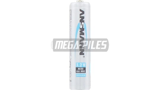 PILES RECHARGEABLES NiMH AAA HR03 1.2V 800mAh