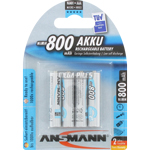 PILES RECHARGEABLES NiMH AAA HR03 1.2V 800mAh x4