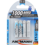 PILES RECHARGEABLES NiMH AAA HR03 1.2V 1000mAh x4