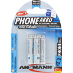 PILES RECHARGEABLES PRECHARGEES DECT NiMH AAA HR03 1.2V 800mAh x3
