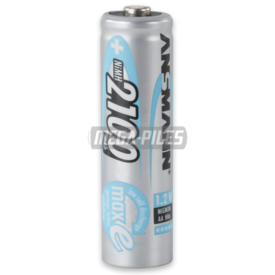 PILES RECHARGEABLES PRECHARGEES NiMH AA HR6 1.2V 2100mAh x1