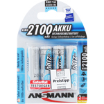 PILES RECHARGEABLES PRECHARGEES NiMH AA LR6 1.2V 2100mAh x4
