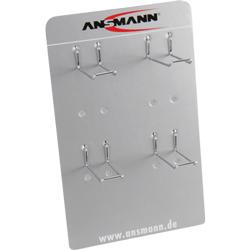 Présentoir métallique de comptoir (vendu sans les piles)