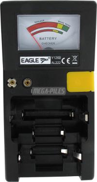 Tester une pile mega piles for Testeur de piles darty