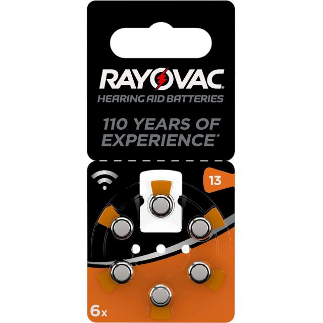 PILES 13 AUDITIVES 13 1.45V 310mAh RAYOVAC