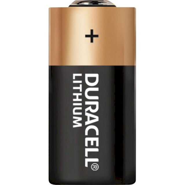 PILE CR123A LITHIUM PHOTO 3V 1400mAh (CR17345) DURACELL